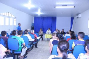Comerciantes, BB e Prefeitura discutem situação da Agencia do Banco do Brasil de Bom Jardim.