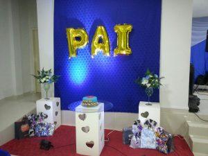 Lions Clube de Bom Jardim realizou festa em homenagem ao dia dos Pais.