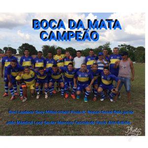 """BOCA DA MATA é Tri-Campeão da COPA MANIM """"Quarentão"""" de Futebol."""