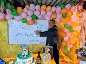 """""""BOLEIROS"""" realizam festa de aniversário e realizam sonho de infância de Joel Varão"""