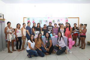 Gestantes indígenas são contempladas com projeto da Assistência Social