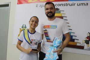 Juiz incentiva hábito da leitura e gramatica através de projeto aos alunos de Bom Jardim