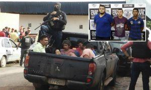 Veja detalhes da operação que prendeu parte da quadrilha que explodiu o Banco do Brasil de Bom Jardim.