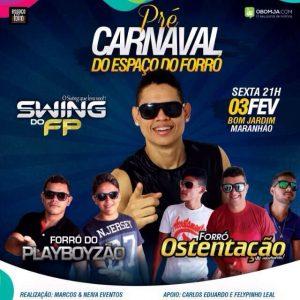 Amanhã dia 3, tem o Pré Carnaval do Espaço do Forró.