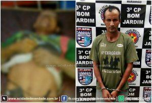 Em São João do Caru: Após discutir e matar homem a pauladas, homem acaba preso pela Polícia Militar
