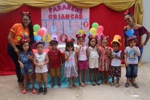 Creche Maria Estela recebe projeto Meu Tesourinho em Bom Jardim