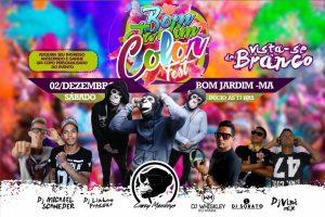 Bom Jardim Color Fest: um dos maiores festivais de cores chega a Bom jardim neste sábado