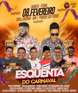 Esse ano o carnaval 2018 começa mais cedo no Parque do Forró!