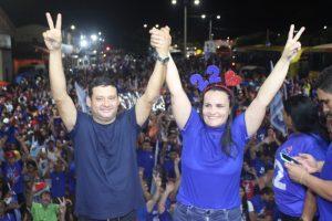 Cristiane Varão apresenta nomes da equipe de transição em Bom Jardim