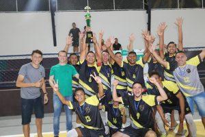 MDQ é o primeiro campeão da COPA ITAMARATY de Futsal em Bom Jardim