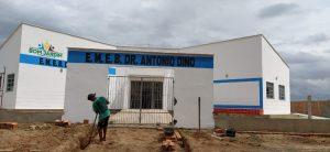 Prefeitura e Estado inauguram escola digna no povoado OSCAR nesta sexta (11)