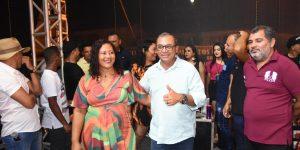 Festa da vitória de Josimar da Serraria atrai multidão em Governador Nunes Freire