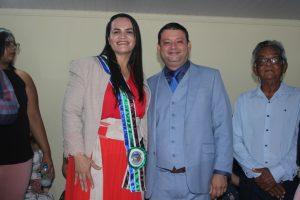 ESPECIAL: Veja a posse de Cristiane Varão e Franekson Gralhada em imagens
