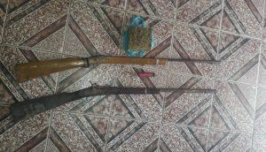 Armas e drogas são apreendidas em Bom Jardim neste sabado (9)