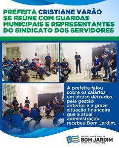 Servidores se reúnem amanhã para analisar proposta de parcelamento do salario de dezembro em Bom Jardim