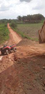 """'Peteca' realiza força tarefa """"emergencial"""" nas estradas da Zona Rural de São João do Caru"""