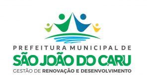 """Prefeitura divulga nova logomarca para a gestão """"Peteca"""" em São João do Caru"""