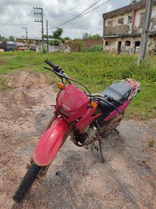 Policia Militar recupera moto furtada em Bom Jardim