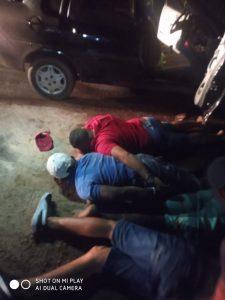 Após assalto na Vila Meireles, bandidos são presos pela policia militar de Bom Jardim