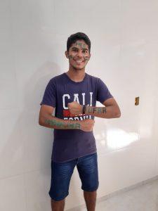 Bonjardinense de 18 anos passa em medicina na UFRR: 'Hoje é um dos dias mais felizes da minha vida'