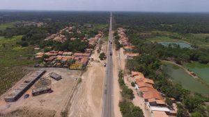 Em Bom Jardim, Prefeitura inicia plano de iluminação da BR-316 nos povoados Tirirical e Zé Boeiro