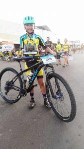 bonjardinense de 12 anos é destaque na maior prova de ciclismo do Norte-Nordeste do Brasil