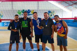 Torneio de Vôlei marca reinauguração do Ginásio da Escola Aldenor Leônidas Siqueira em São João do Caru