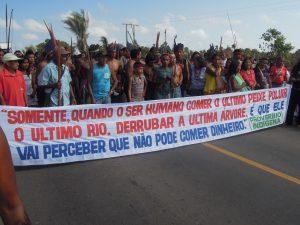 Após STF suspender julgamento pela 3ª vez; Guajajaras liberam BR 316, mas já se preparam para nova manifestação